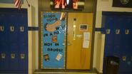 Library Door Contest Winner!